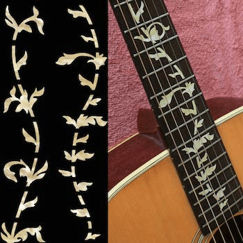 Tree of life MOP inlay for guitar