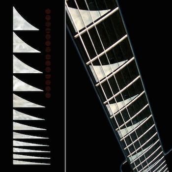 Ibaniz type shark fin inlay