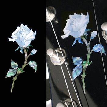 small rose inlay