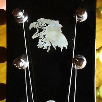 eagle inlay