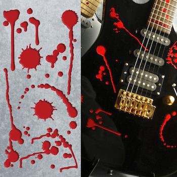 Splattered Blood decals