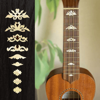 Inlay Stickers They Look Like REAL Inlay For Guitar And Bass Ukulele More