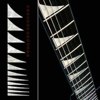 Ibaniz type shark fin inlay