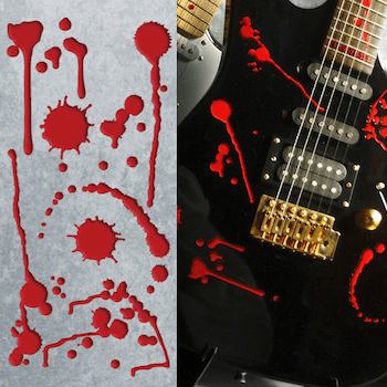 Splattered Blood decals