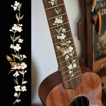 ukulele decorative  inlay decal